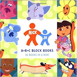 Amazon.com: Nick Jr. ABC Block Books (0765145102544): Nickelodeon: Books