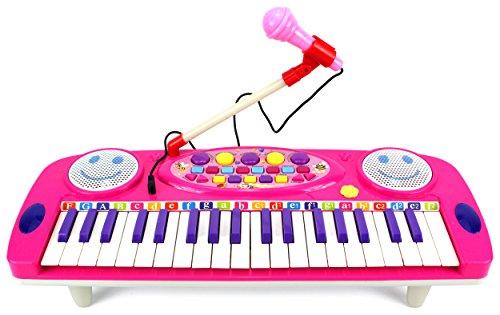 Happy Face 37 Keys Electric Organ Children