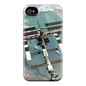 Hot Style YjH18304UYxb Protective Cases Covers For Iphone4/4s(space Station)