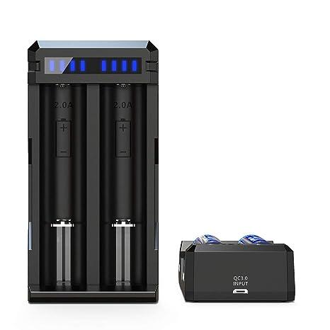 XTAR Unisex - Cargador de Adultos para Baterías de Ion de ...