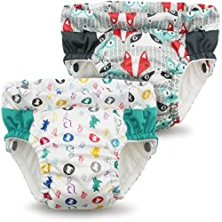 Kanga Care Lil Learnerz Toilet Training Pants, Clyde & Roozy, Small