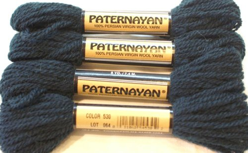 Paternayan Needlepoint 3 Ply Wool Yarn Color 530 Blue Spruce This Listing Is For A  1 Full Hank