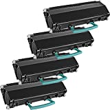 4 Inkfirst® Toner Cartridge X463 (X463X21G) Compatible Remanufactured for Lexmark X463 Extra High Yield Black X464 X464DE X466 X466DE X466DTE X466DWE X463 X463DE