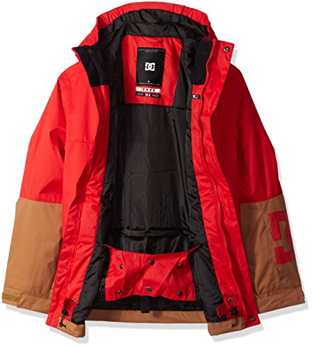 Snow 10 Racing Boys' M Big Jacket Youth DC Defy Red RxTIPwq18x