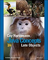 Java Concepts: Late Objects, 3rd Edition Front Cover
