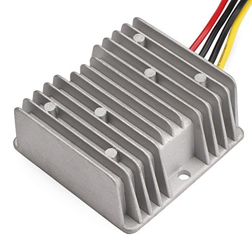 DROK 120W Car Power Supply Step Up Voltage Regulator 12V Transformer 10A DC-DC Boost Converter Module Input 5-11V Car Power Supply Converter for Radio 200157