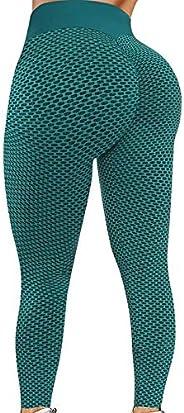 1PC Women's High Waist Leggings Ruched Butt Shapewear Tights Yoga Pants Tummy Control Yoga Pants for Worko