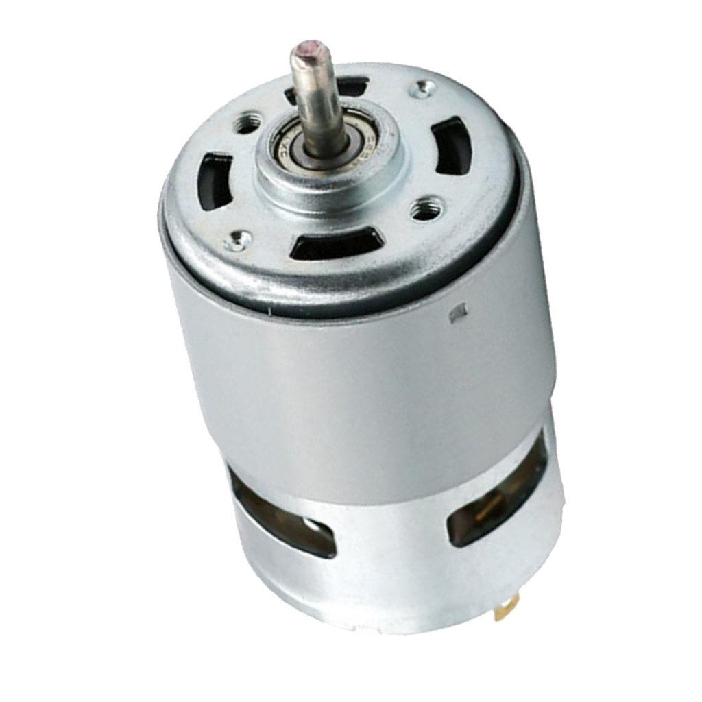 Dolity 12000RPM Singal Ball Bearing Shaft Motor 775 Replacement for Car Wash Pump Sprayer