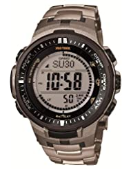 Casio PROTREK Triple Sensor Ver.3 Tough Solar MULTIBAND 6 PRW-3000T-7JF Men's Watch (Japan Import) by PROTREK