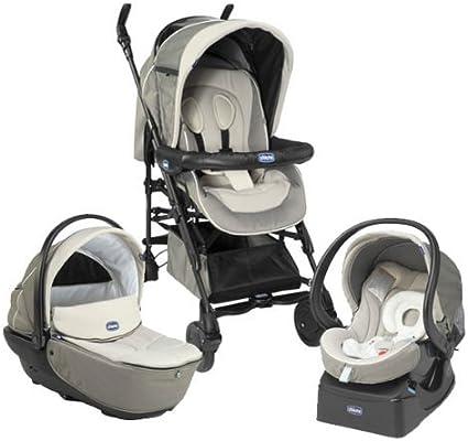 Chicco - Pack silla de paseo trio living smart chick to chick: Amazon.es: Bebé