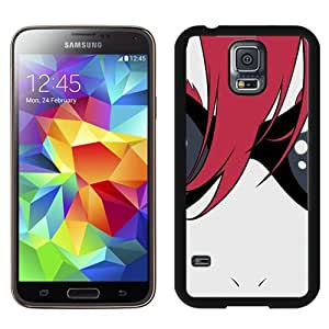 Popular And Unique Designed Cover Case For Samsung Galaxy S5 I9600 G900a G900v G900p G900t G900w With Anime Boy Glasses Hair Red black Phone Case BY supermalls