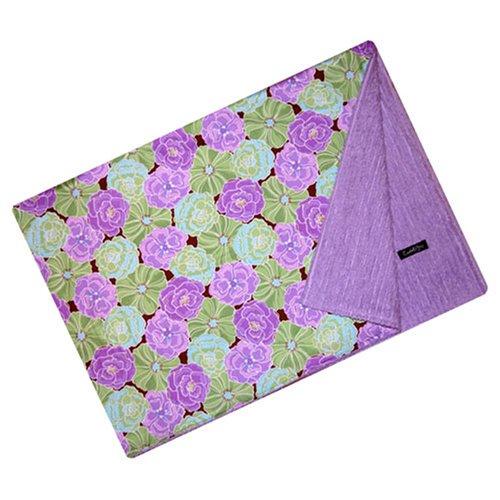 Cuddle Bee Chenille Blanket Purple -