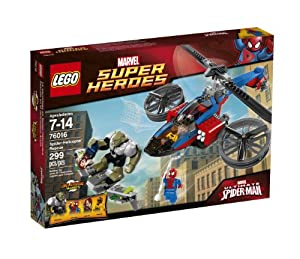 LEGO® Super Heroes, Spider-Helicopter Rescue - Item #76016