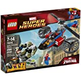 LEGO Superheroes 76016 Spider-Helicopter Rescue
