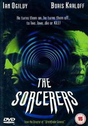 The Sorcerers [DVD] by Boris Karloff: Amazon.es: Boris Karloff, Catherine Lacey, Elizabeth Ercy, Ian Ogilvy, Victor Henry, Michael Reeves: Cine y Series TV