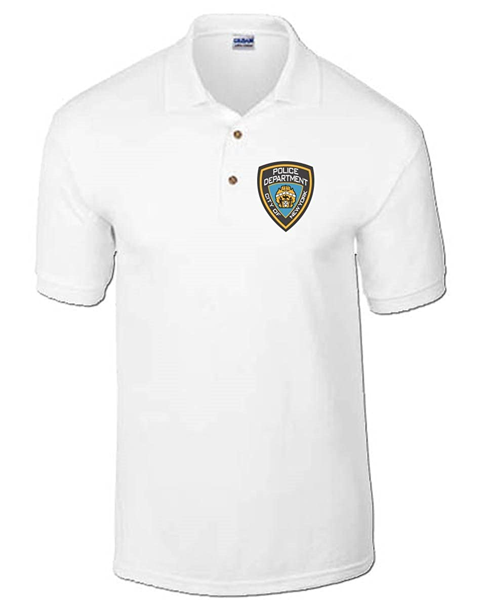 T-Shirtshock - Polo TM0115 Police Department Citta, Talla XXL ...