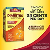 Diabetes Health Pack Nutritional Support for Diabetes and Pre-diabetes of 60 Packets (6 VITAMINS) Review