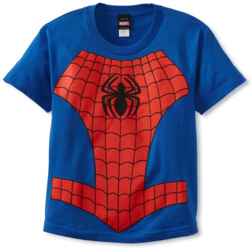 Spiderman Big Boys' Spider In Me T-Shirt, Royal, X-Large (T Shirt Spiderman)
