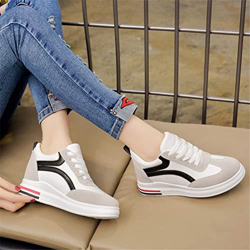 De Sneaker Montante Noir 40 Tendance Mode À Femme Basket Casual Pour Résistant Outdoor Multisport L'usure 35 Antichoc Chaussure qtxxwzRAg1