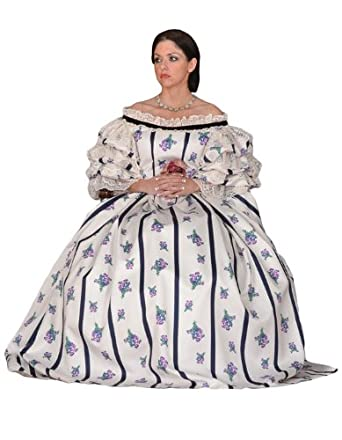 Vintage Style Wedding Dresses, Vintage Inspired Wedding Gowns  Mary Todd Lincoln Civil War Era Theatrical Costume $499.99 AT vintagedancer.com