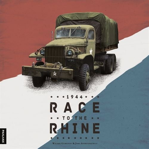1944  Race to the Rhine Board Game by Phalanx (Poland)