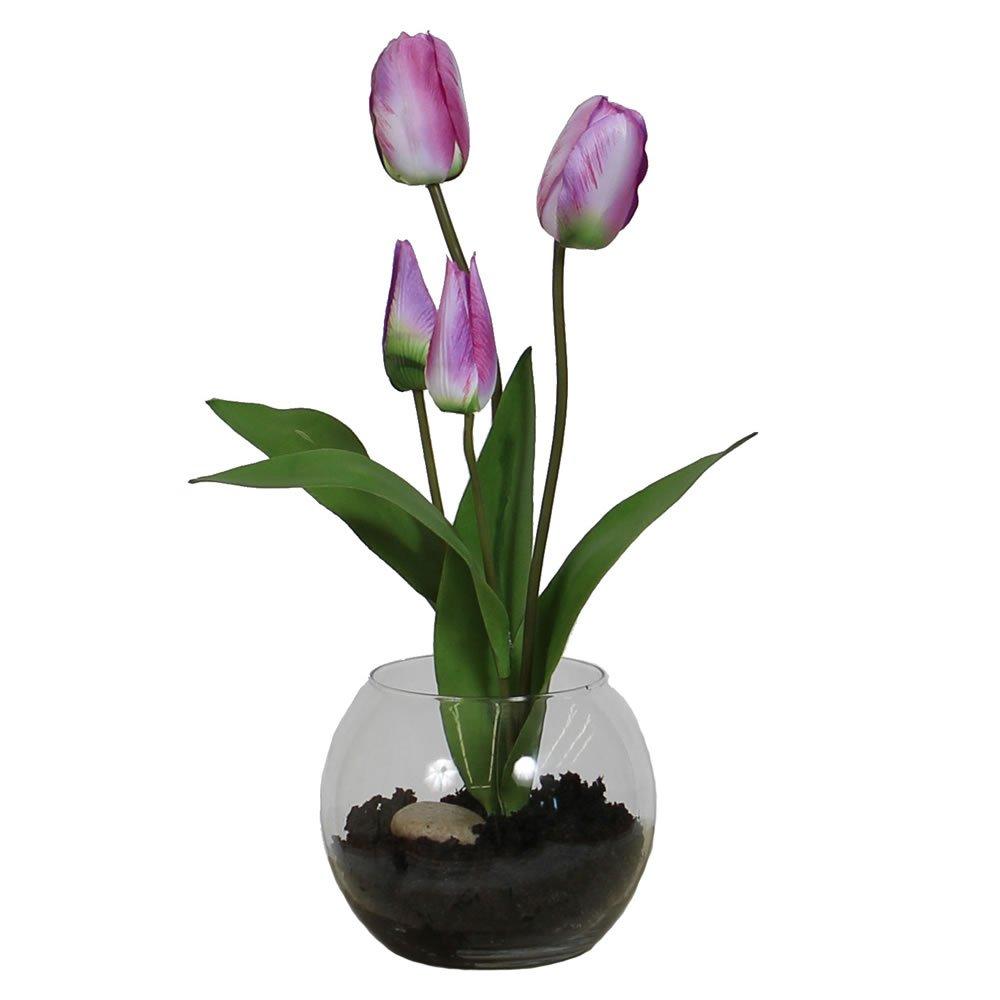 Vickerman F12157 Everyday Tulip Floral, Purple