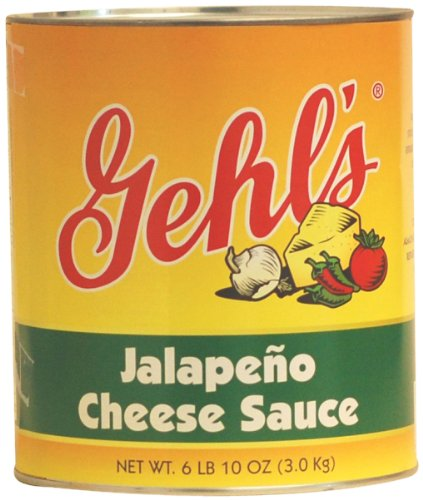 Gehl's Jalapeno Cheese Sauce, 140 oz. Bag (4 Count)