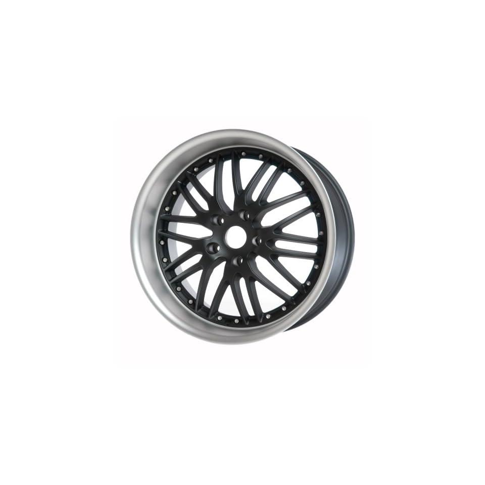 "19"" Black Hyundai Genesis Coupe ST1 Wheels Set Staggered (Set of 4 Rims) 328 335 Automotive"