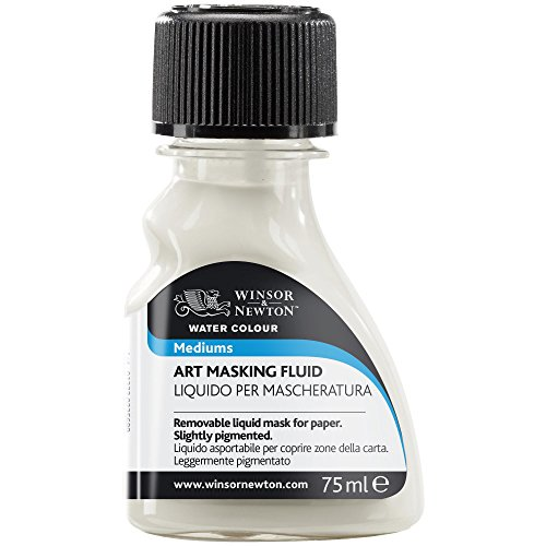 Winsor & Newton Art Masking Fluid, 75ml (Best Masking Fluid For Watercolor)