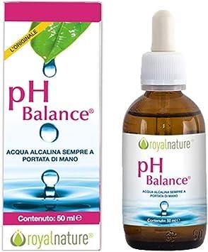PH BALANCE - Suplemento alcalinizante y purificador que consiste en un concentrado alcalino de oligoelementos e iones minerales.: Amazon.es: Salud y cuidado personal