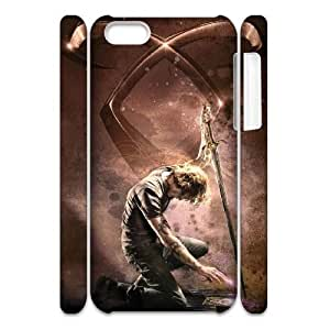 Qxhu The Mortal Instruments City of Bones patterns Hard Plastic Cover Case for Iphone 5C 3D case