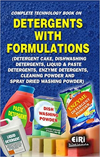 Buy Complete Technology Book on Detergents with Formulations