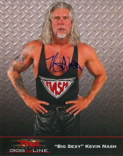 eal 5 Autograph 8x10 Promo Photo Kevin Nash, Booker, Jarrett - Autographed Wrestling Photos ()