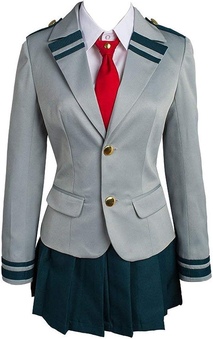 My Hero Academia Uniform Boku No Hero Academia Ochaco Uraraka Cosplay Costume Ochako Tsuyu Blazer School Suit