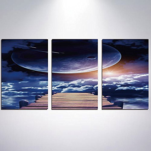 3 Panel Canvas Prints Wall Art for Home Decoration Outer Spa