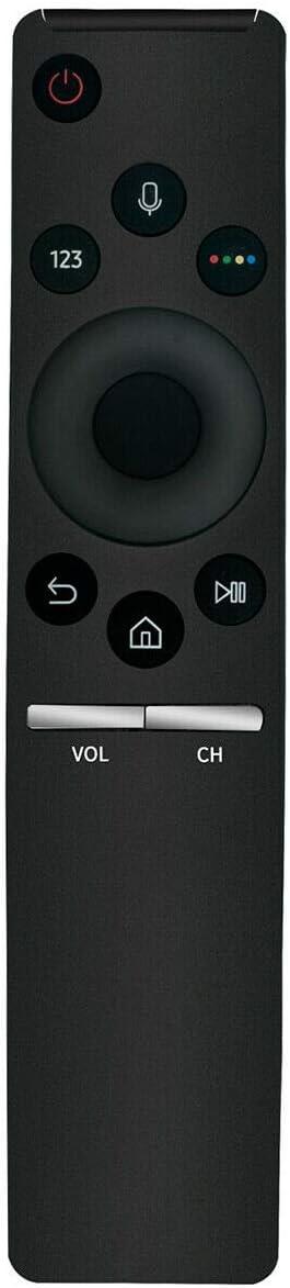 QN75Q60RA 75 QN82Q60RA 82 Q60 QLED Smart 4K UHD TV Replacement Bluetooth TV Remote Control Controller with Mic for Samsung QN65Q60RA 65