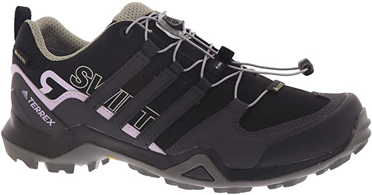adidas outdoor Terrex Swift R2 GTX Hiking Shoe - Women's Black/DGH Solid  Grey/Purple Tint, 7.0