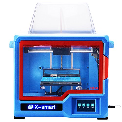 QIDI Technology 3D Printer, New Model: X-Smart, Fully Metal Structure, 3.5 inch Touchscreen
