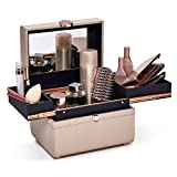 Caboodles Life & Style Small Train Case, Makeup Cosmetic Case Organizer Small Train Case