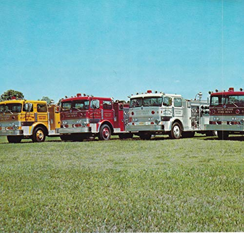 1971 Original Magazine Print Ad #1 Imperial Fire Apparatus DEPTFORD NJ FIRE ()