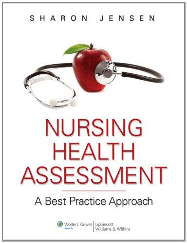 Jensen Text, Lab Manual & PrepU plus LWW Nursing Health Assessment Video Package