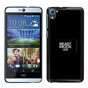 Stuss Case / Funda Carcasa protectora - Beast Mode On - HTC Desire D826