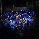2 Pack Outdoor Solar Starburst LightsGarden Lights 120LED Solar Firework Lights 40Copper Wires String Landscape Light-DIY Flowers Fireworks Trees for Walkway Patio Lawn Backyard,Christmas Party Decor