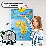 Learn & Climb Interactive World Map for Kids