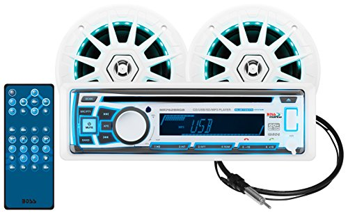 BOSS Audio MCK762BRGB.6 Receiver/Speaker Package, Bluetooth,