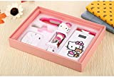 Mobile Power Box Set, Universal 20000mah Ultra Slim Power Bank Dual USB Portable Charger External Battery Pack for Iphone Ipad Samsung Galaxy Cell Phones and Tablets (Hello Kitty)