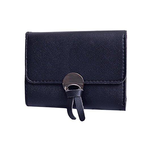 quotidien ESAILQ qualité main Femmes usage bourse main Fashion sac embrayages à sac Noir Wallet d'embrayage à qnwE4CBwpx