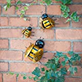 Ideal Gift Bumble Bee Wall Art For Garden, Patio and Home.