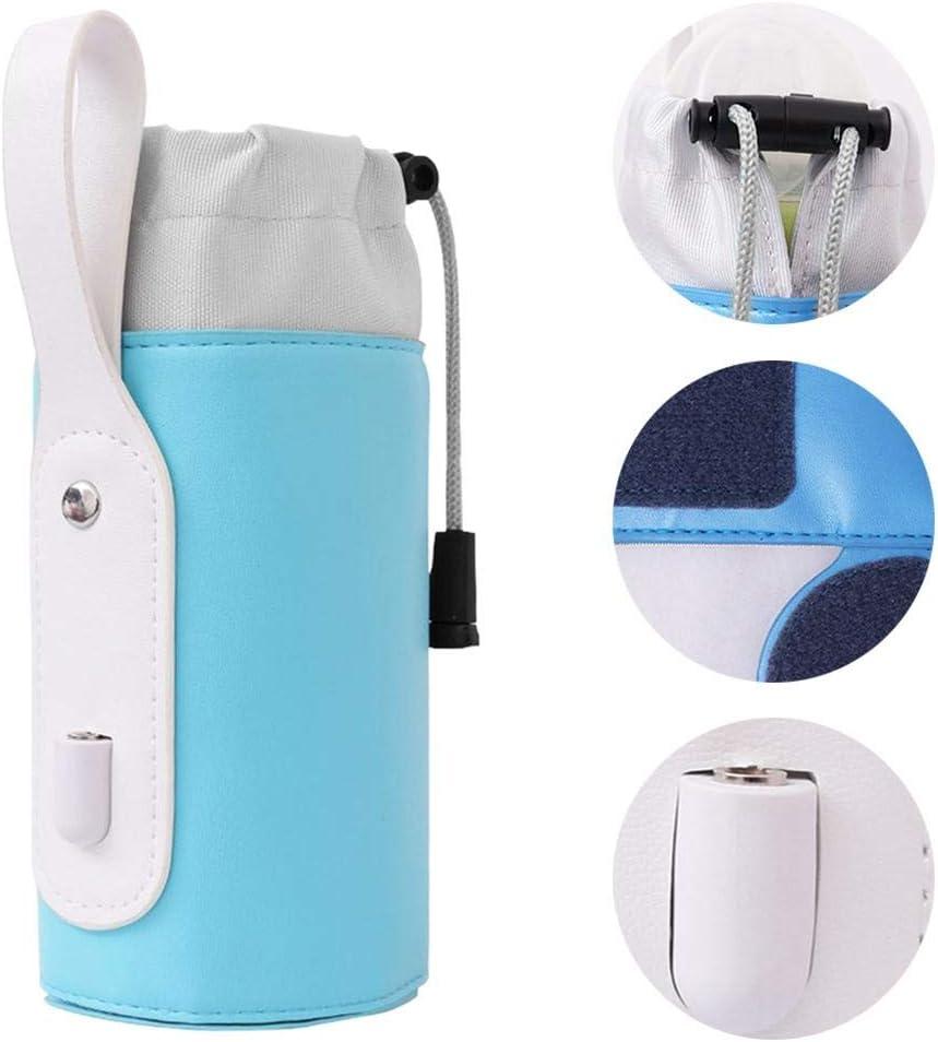 QUUY Babyflasche W/ärmetasche USB-Aufladung Milchw/ärmer Heizung Isolierte Aufbewahrungstasche F/ütterung Milch Thermostat Tasche F/ür Die Reise