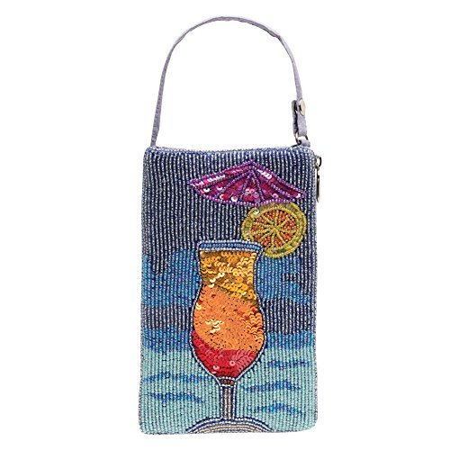 Womens Purse - Beaded Cocktail Wristlet Handbag - Daiquiri